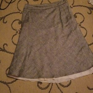 Anthropologie c.c. outlaw tweed and cotton skirt